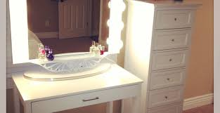 Makeup Vanity Table With Lighted Mirror Ikea by Mirror Vanity Table With Lighted Mirror Ikea Awesome Illuminated