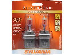 sylvania mustang silverstar ultra headlight bulbs 9007