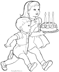 Kids Page To Print And Color