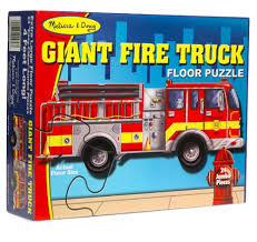 100 Melissa And Doug Fire Truck Puzzle Amazoncom Giant 24Piece Floor FREE