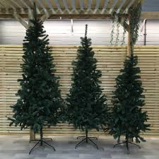 Artificial Christmas Tree 6ft by Gardman Alberta Slim 6ft Artificial Christmas Tree Internet Gardener