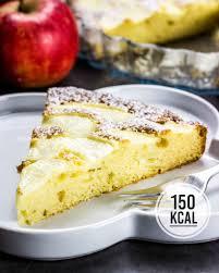 saftiger apfelkuchen low und kalorienarm kalorien