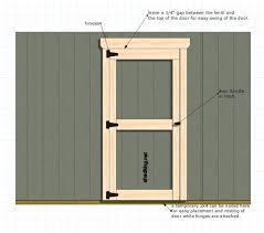 13 comprehensive plans and walk thru u0027s to build shed doors