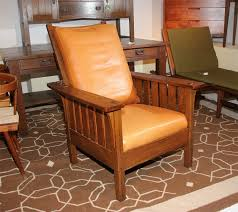 Stickley Furniture Leather Colors by L U0026jg Stickley Mission Reclining Morris Chair For Sale At 1stdibs