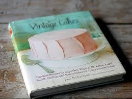 Vintage Cakes Cookbook History Lesson