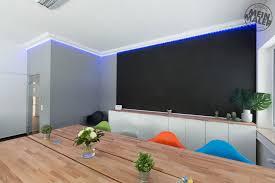 betonlook stuckdecor led licht tafellack magnetwand