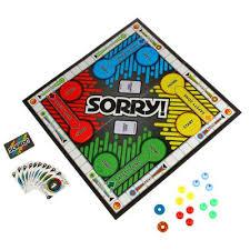 Hasbro Board Game Sorry