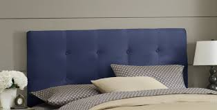 Skyline Tufted Headboard Wingback by Skyline Furniture Double Button Tufted Upholstered Panel Headboard