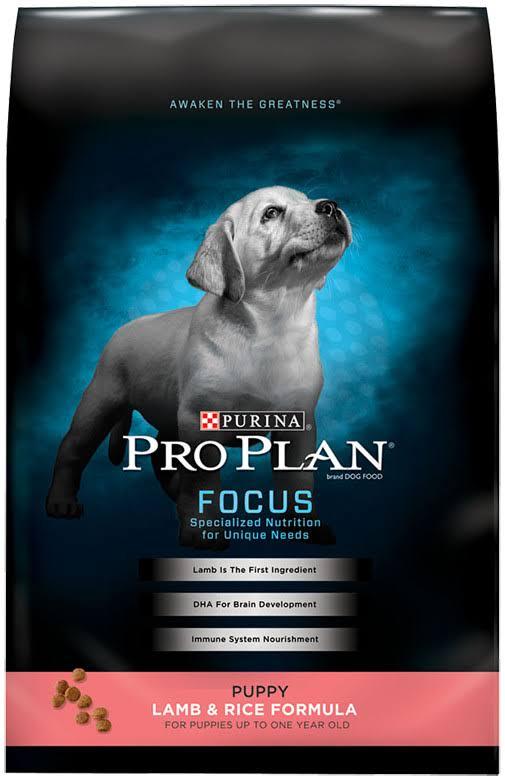 Purina Pro Plan Dry Puppy Dog Food - Lamb and Rice Formula, 18lbs