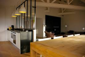 Glass Partition Wall Between Kitchen And Dining Peekaboo Awesome Home Ideas