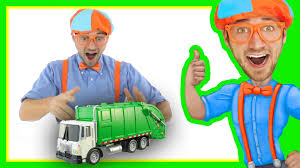 Garbage Truck With Blippi Toys | Educational Toy Videos For Children ...