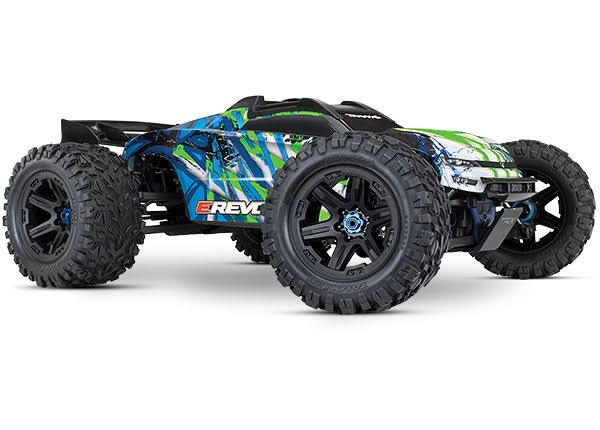 1/10 Traxxas E-Revo VXL 2.0 4WD Brushless Electric Monster Truck.
