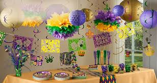 Parade Float Decorations Edmonton by Mardi Gras Party Supplies Mardi Gras Decorations Party City