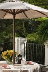 Round Patio Tablecloth With Umbrella Hole by 7 Ways To Make Umbrella Holes The Bright Ideas Blog