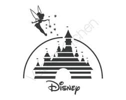 Tinkerbell Pumpkin Stencil by Disney Castle Svg Etsy