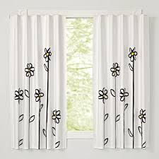 Cherry Blossom Curtain Panels by Daisy Blackout Curtains The Land Of Nod