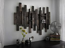 DIY Wooden Pallet Wall Decor Recycled Things Wall Art Made From