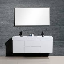 48 Inch Double Sink Vanity White by Captivating Wall Mounted Double Vanity And Yakira 48 Inch Double