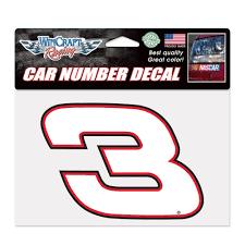 100 Austin Truck Accessories Dillon WinCraft 5 X 7 Car Number Decal NASCAR Shop