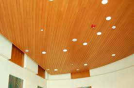 wooden suspended ceiling strip linear rulon company