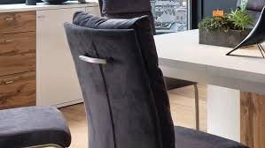 schwingstuhl pia 2er set stuhl freischwinger stoff anthrazit