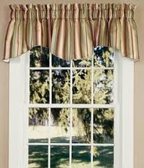 Country Curtains Greenville Delaware by Yacht Club Stripe Crimson Chatham Valance Waverly Waverly