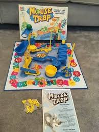 Vintage Mb Mousetrap Board Game 1999 Complete And With Instructions
