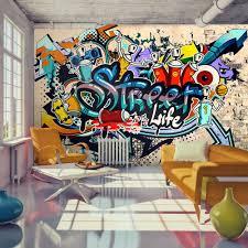 graffiti skate streetart fototapete vlies tapete
