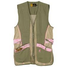 sporter ii shooting vest for her sage tan realtree ap pink