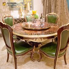 klassischer runder tisch neue klassische esszimmermöbel jp657