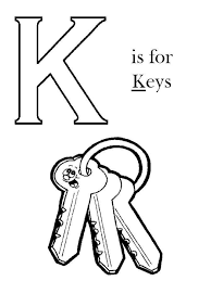 Images Key Coloring Page 77 For Your Free Pages Kids With