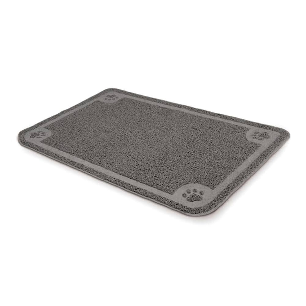 Petmate Litter Catcher Mat - Grey, Xlarge