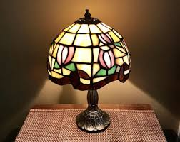 Tiffany Style Lamps Vintage by Stained Glass Lamp Etsy