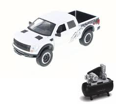 Diecast Car & Air Compressor Package - Ford F-150 SVT Raptor Pickup ... Diecast Car Air Compressor Package Ford F150 Svt Raptor Pickup 1979 Truck Gulf Oil 124 Scale Model By Northlight 4 In Officially Licensed Red Pick Up Hot Wheels 2015 Hw Offroad 15 Toy 4x4 Youtube Amazoncom Maisto 121 Lightning Models 98mm 1999 Newsletter Sam Waltons Jtc Fine Colctible 125 97 Xlt By Revell Rmx857215 Toys Hobbies Tamiya 110 Ford 1995 Baja 4wd End 4282017 715 Pm