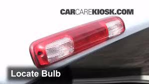 third brake light bulb change chevrolet silverado 1500 1999 2007