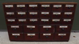 Victorian Mahogany Apothecary Cabinet Drawers with Glass Plaques