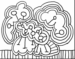 Extraordinary Abstract Art Coloring Pages For Kids With Free Online