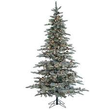 Pre Lit Flocked Christmas Tree Canada by 12 Best Flocked Fake Christmas Trees Images On Pinterest