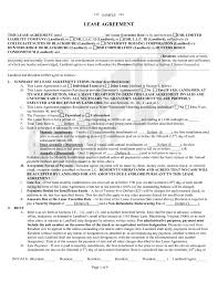 100 Commercial Truck Lease Agreement Form Best Photos Of