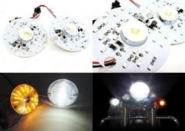 Harley Davidson Light Fixtures by White Amber Dual Led Turn Signal Daytime Light Drl 1157 Bulb For
