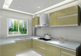 Ceiling And Cabinets For Minimalist Kitchen Decor