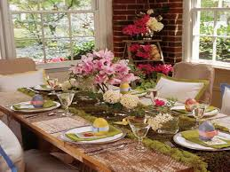 Spring Table Decorations Ideas