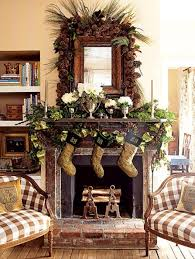 Decorating Ideas Fireplace Mantel Decor Summer 051728 Xmas