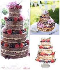 11 Of The Best Naked Wedding Cakes
