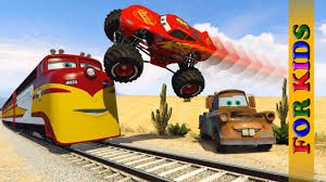 McQueen Monster Truck Mater Destructive Train Trev Diesel And ... Monster Jam Stunt Track Challenge Ramp Truck Storage Disney Pixar Cars Toon Mater Deluxe 5 Pc Figurine Mattel Cars Toons Monster Truck Mater 3pack Box Front To Flickr Welcome On Buy N Large New Wrestling Matches Starring Dr Feel Bad Xl Talking Lightning Mcqueen In Amazoncom Cars Toon 155 Die Cast Car Referee 2 Playset Kinetic Sand Race Blaze And The Machines Flip Speedway Prank Screaming Banshee Toy Speed Wheels Giant Trucks Mighty Back Toy