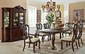 Trendy Fancy Dining Room Sets Formal Mansion