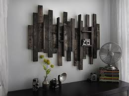 Image Of Large Rustic Wall Decor For Bedroom