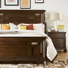 broyhill estes park wood panel bed