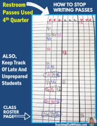 Teacher Bathroom Pass Ideas by How To Stop Writing Restroom Passes And Keep Students In Class