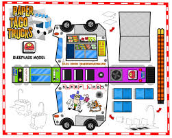 100 Trucks Paper Paper Taco Truck 04 Click On All Sizes Button Above And Do Flickr
